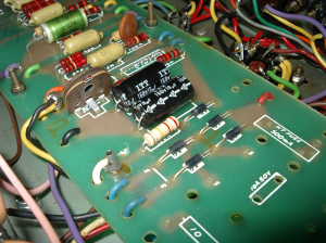 The bias components on the 2204