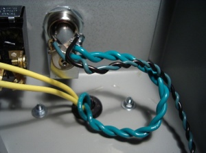 Filament/heater wiring