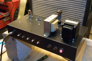 "A functioning ""P1 eXtreme"" amplifier"