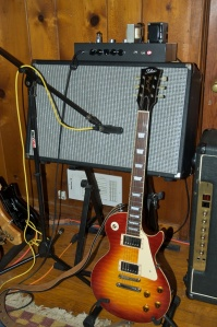 P1-eX with Tokai Les Paul copy