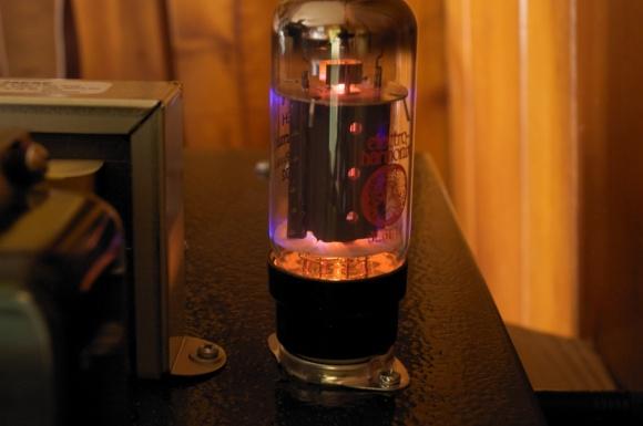 An Electro Harmonix 6L6 in an AX84 P1 eX
