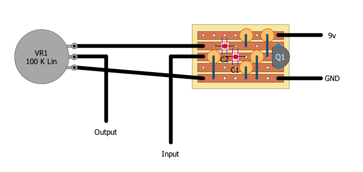 building an electroharmonix lpb from scratch  hot bottles, schematic