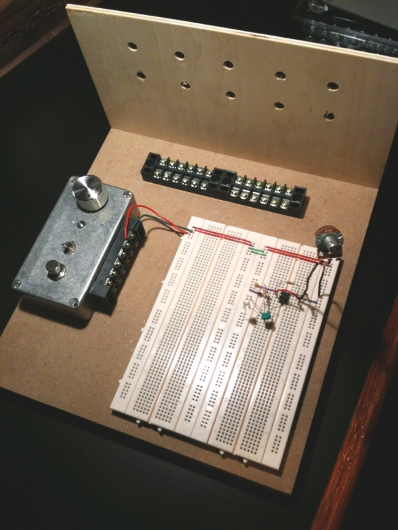 The prototyping board
