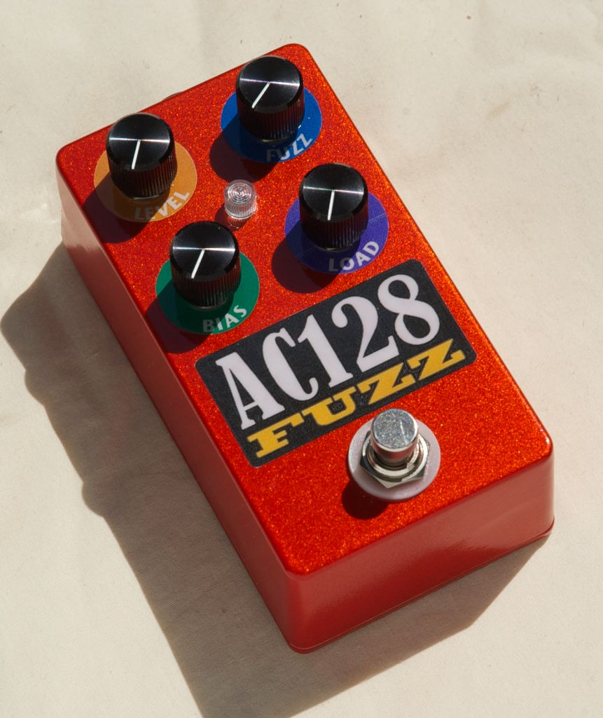 ac128 germanium fuzzface with fuller mods from diy effects hot bottles. Black Bedroom Furniture Sets. Home Design Ideas