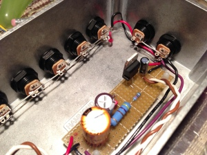 Gut shot of 9v/18v power supply