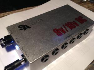 The finished 9V/18V power supply