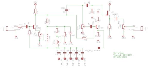 Static Wah circuit