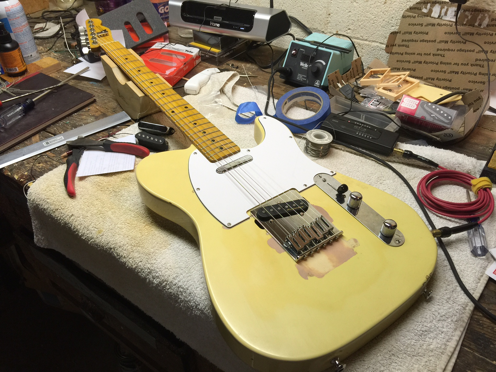 rewiring a telecaster with a four way switch hot bottles rh hotbottles wordpress com rewiring a semi hollow guitar guitar cabinet wiring