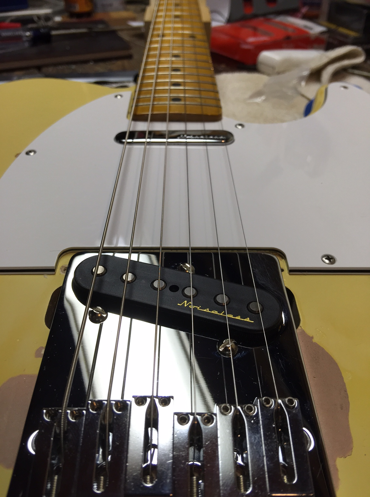 With Hot Noiseless Pickus Nashville Wiring Before Removal