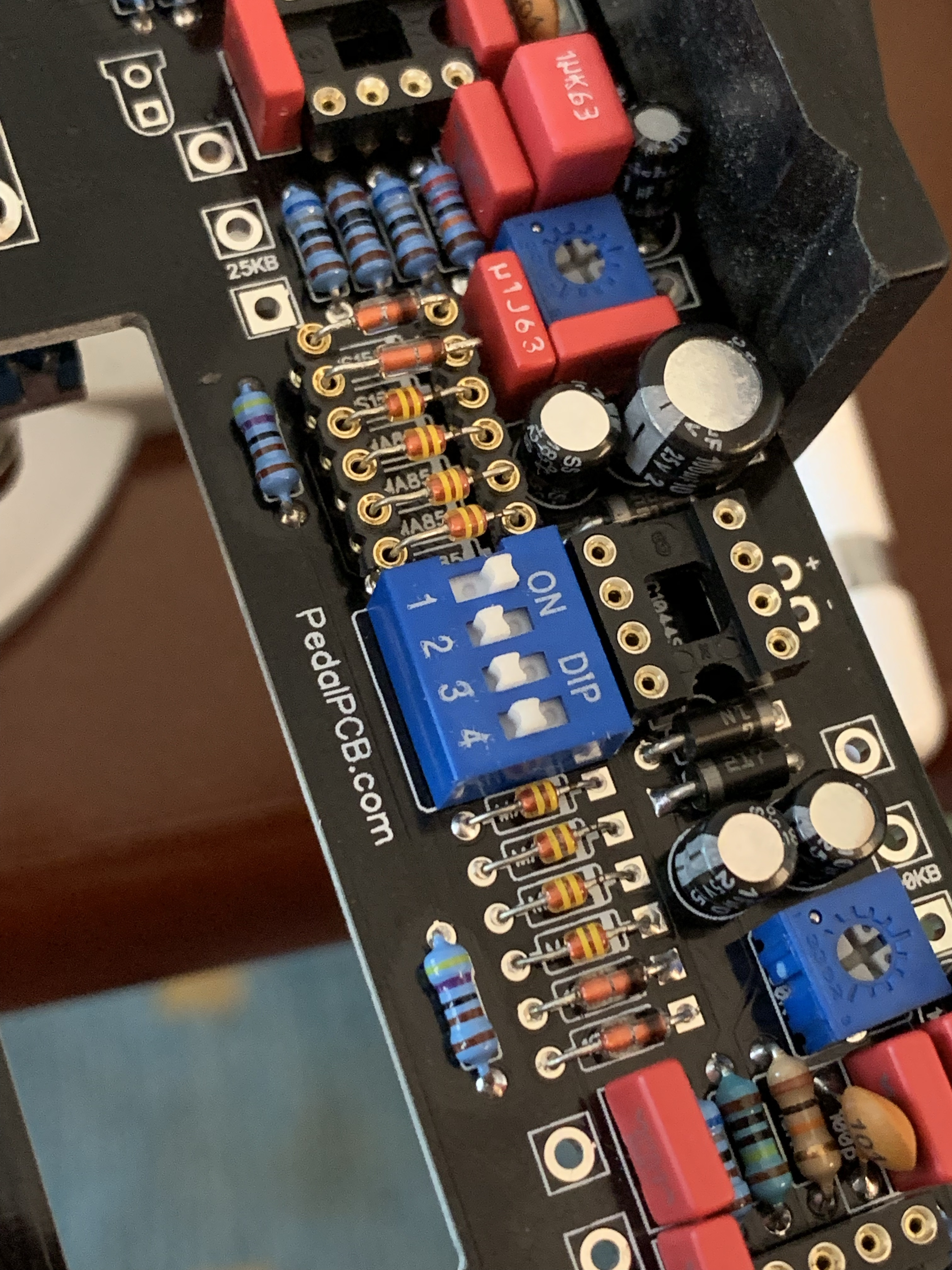 Diode sockets